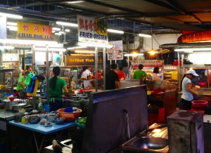 Local hawker food, Maclister Road, Georgetown, Penang