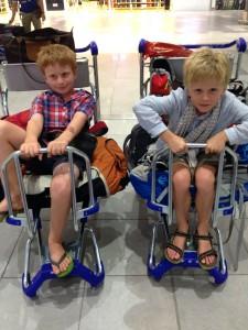 Car trolley rides at KL airport