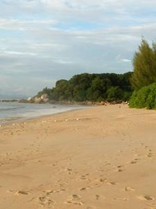 Beach at Batu Ferringhi, Penang