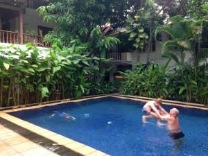 Relaxing in Phnom Penh
