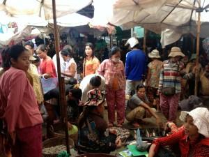 Bustling Siem Reap Market