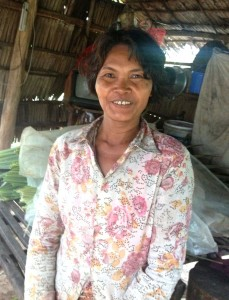 Beautiful faces of Siem Reap, rice farmer