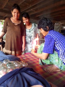 Rice noodle making, a family affair