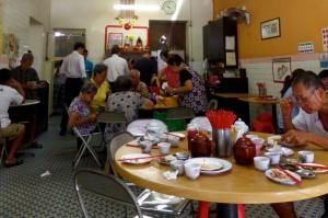 Dim Sum Restaurant, downtown Georgetown, Penang