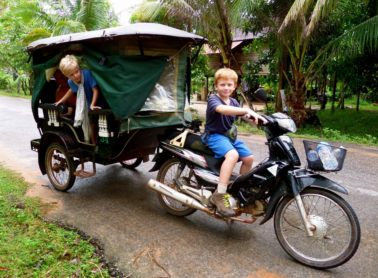 The ultimate dream, to drive a TukTuk